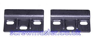 cabinet hanger wall plate pair of heavy duty cabinet hanger wall plates for kitchen cupboards