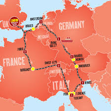 Amsterdam Map Europe by Europe Tours Tours From London 10 Days In Europe Expat Explore