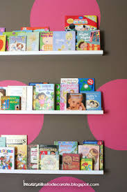 the girls u0027 room progress 1 4 toddler bookshelf wall ikea picture