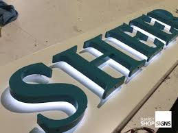 metal letters for your business or organisation surrey shop signs