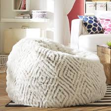 isabella rose taylor luxe faux fur beanbag