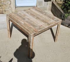 comment faire une table de cuisine best plan table de jardin en palette gallery amazing house design