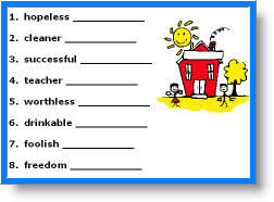 free prefix and suffixes worksheets for kids 3rd grade prefix and
