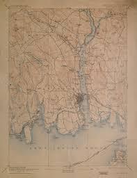 New London Ct Map New London Ny Quadrangle