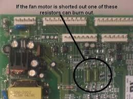 ge refrigerator fan motor ge refrigerator fan motor diagnostics