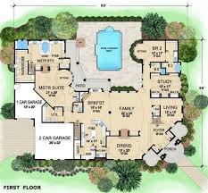 Floor Plans For Big Houses 206 Best House Plans Images On Pinterest House Floor Plans