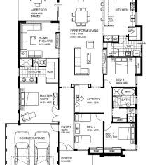 Southwest Style Home Plans Southwest Home Designs 4 Bedroom 4 Bathroom Home Plan Homepw76619
