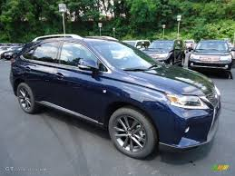 blue lexus 2015 deep sea blue mica 2013 lexus rx 350 f sport awd exterior photo