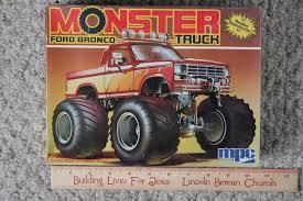 bronco monster truck model