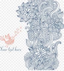 pattern drawing illustrator drawing line art illustrator illustration floral decorative