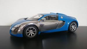 french sports cars autoart bugatti veyron l u0027edition centena chrome french blue