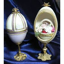 decorative eggs rider smart decorative egg other beautiful on ebid united