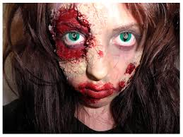 halloween makeup ideas with contacts smock to frock