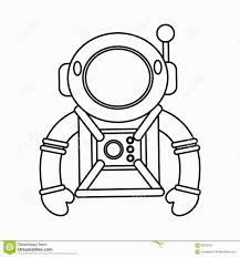 innovational ideas astronaut outline picture tattoo clipart images