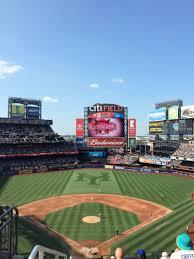 Citi Field Map Citi Field Section 319 Row 1 Seat 5 New York Mets Vs