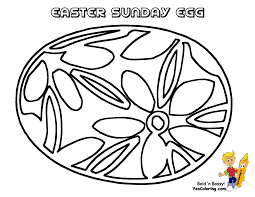 fancy easter egg coloring pages easter egg free easter