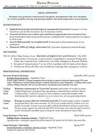 Real Estate Resumes Samples by Property Manager Resume Example Hospitality Management Resume