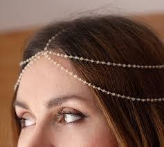 chain headpiece items similar to goddess diana chain moonstone chain