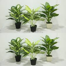 different size cheap artificial potted plant fake artificial