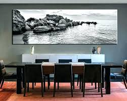 wall decor dining room wall art for bathroom decor oversized ideas glamorous huge large