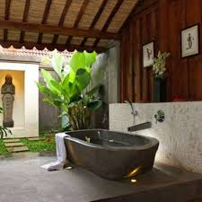 bathroom traditional outdoor bathroom design with grey stone bathroom traditional outdoor bathroom design with grey stone oval bathtub and luxury head shower plus