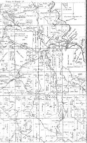 Property Lines Map 1875 Jackson County Ohio Township Maps