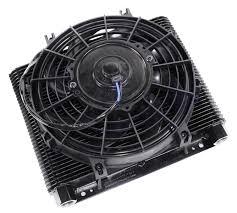 oil cooler with fan row oil cooler fan kit