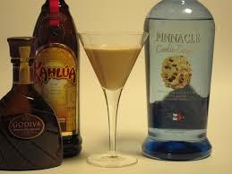 chocolate kahlua cookie cocktail godiva chocolate liqueur