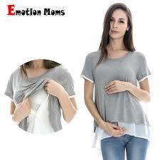 nursing tops aliexpress buy emotion sleeve maternity t shirt