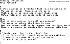 popular wedding invitation blog the wedding invitation lyrics