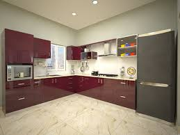 indian modular kitchen designs condor spacious u shaped