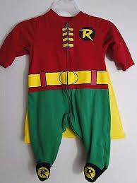 Infant Robin Halloween Costume Batman Robin Costume 3 Months Onesie Cape Halloween U0027s