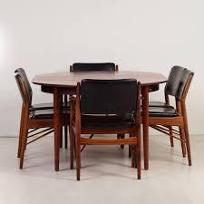 Extra Large Dining Room Table Vintage Design Rosewood Dining Set By Arne Vodder For Sibast