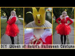 Queen Halloween Costume Diy Queen Hearts Halloween Costume
