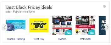 staples black friday ads bing ads launches new black friday flyers carousel