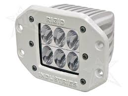 Flush Mount Led Lights Rigid Industries Marine D2 Led Lights White Driving Flush