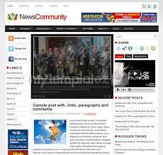 free templates blogger templates magazine news community