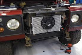 lexus v8 in defender defender air conditioning kit auto express