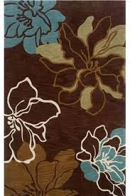 Area Rugs With Turquoise And Brown Rug Addiction Tufted Polyester Turquoise And Brown Shag Area