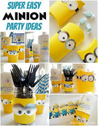minion party ideas diy minions party ideas budgeting easy and birthdays