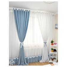 Blue And White Gingham Curtains Blue Gingham Curtains