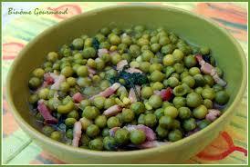 cuisiner les petit pois frais petits pois frais aux lardons et à la rouquette binôme gourmand