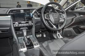 honda civic 2016 black 2016 honda civic modulo dashboard at 2016 bims indian autos blog