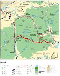 Americas Byways by Kancamagus Scenic Byway Maplets