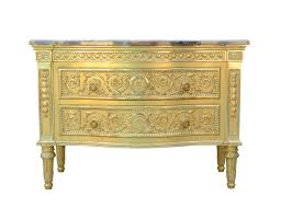 louis xvi style chest of drawers wooden beige alexandre