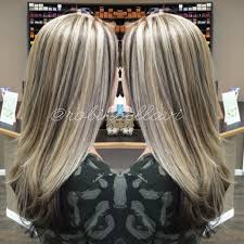 icy ashy blonde with brown lowlights longhair icyblonde