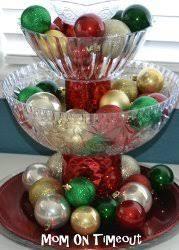 shatterproof ornament centerpiece allfreechristmascrafts