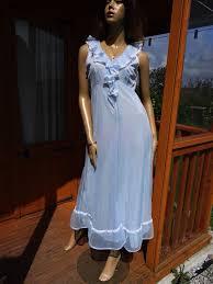 genuine vintage st michael double layer nylon nightdress size
