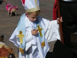 bishop halloween costume easy pope costume optionally no sew 5 steps