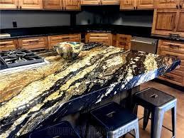 kitchen island granite countertop kitchen island supreme gold granite countertop with mitered edge